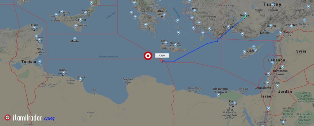 """Αεροναυτική άσκηση πραγματοποίησαν οι Τούρκοι νοτίως της Κρήτης, για το """"μελλοντικό έλεγχο"""" της Λιβύης"""