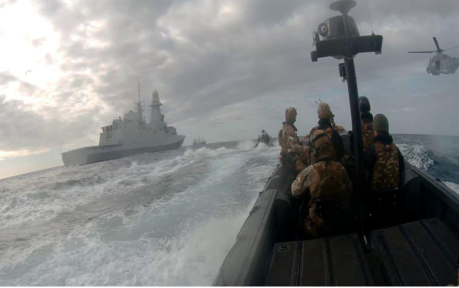 """Επιχείρηση """"Ειρήνη"""" – Το θαλάσσιο μπλόκο της Ελλάδας απέναντι στην Τουρκία (Vid)"""