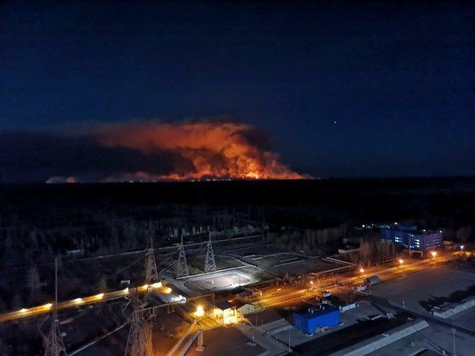Ουκρανία: Μεγάλη Πυρκαγιά μόλις ένα χιλιόμετρο από τον πυρηνικό σταθμό του Τσέρνομπιλ