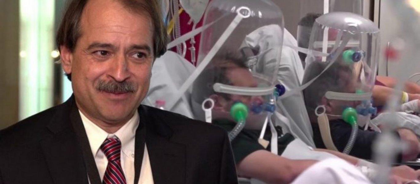 """Γ. Ιωαννίδης: """"Σε νοσοκομειακή λοίμωξη οφείλεται το ξέσπασμα κρουσμάτων σε ΗΠΑ & Ιταλία.."""""""