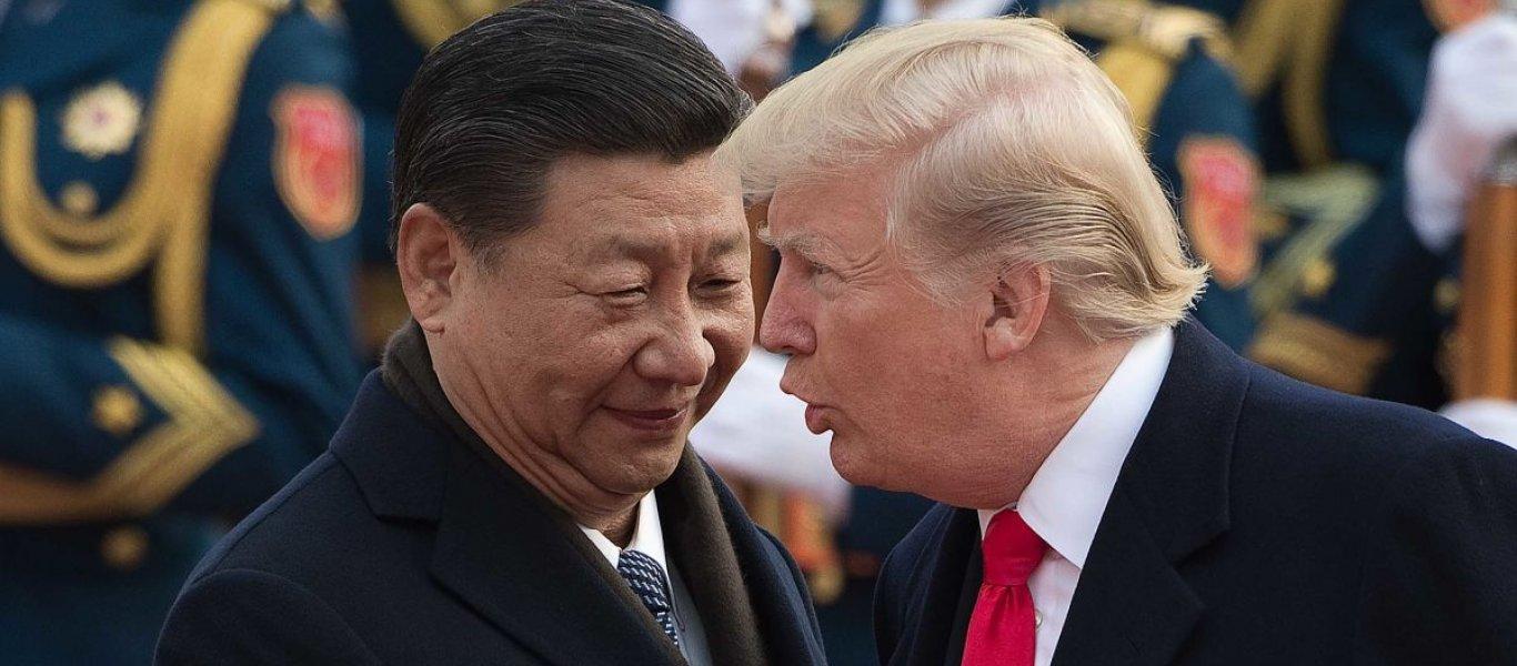 """Ν. Τραμπ: """"Έχουμε τις αποδείξεις ότι ο κορωνοϊός προήλθε από την Κίνα.."""""""