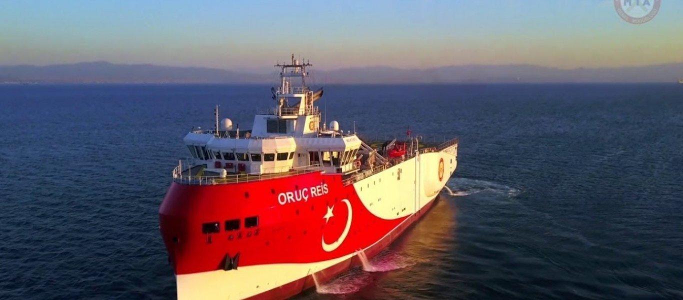 Προς όξυνση της ελληνοτουρκικής κρίσης; Έτοιμο για απόπλου το Oruc Reis στην Αν. Μεσόγειο