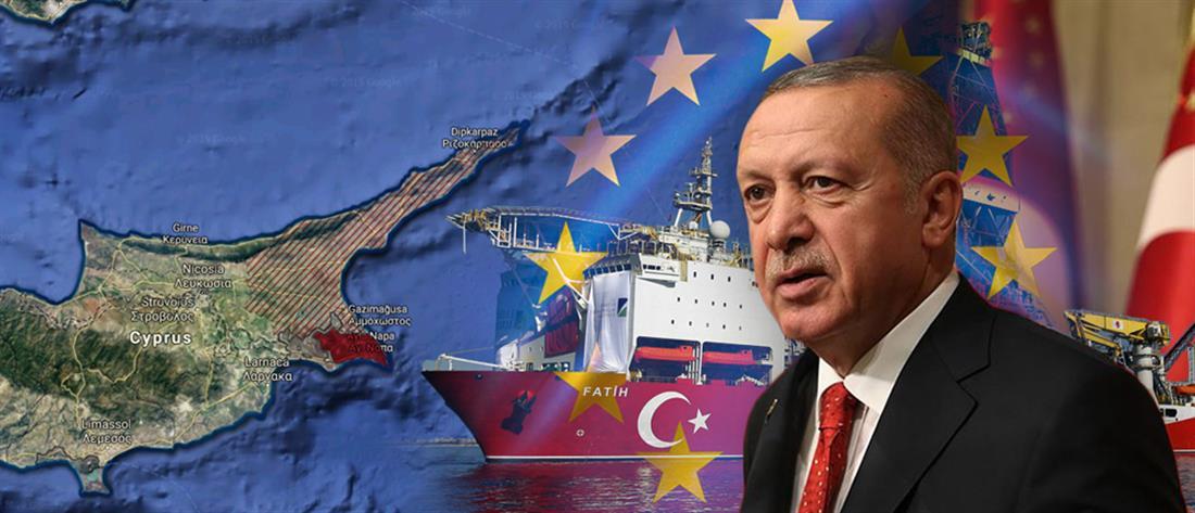 """Ερντογάν: """"Δεν είμαστε φιλοξενούμενοι στη Μεσόγειο, αλλά οικοδεσπότες.."""""""