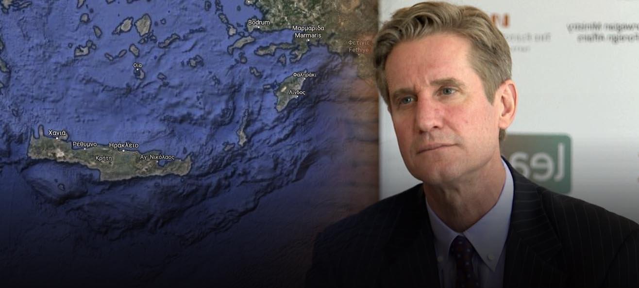 Μ. Μπράιζα: «Η Τουρκία να εγκαταλείψει Κρήτη & Ρόδο & η Ελλάδα το Καστελόριζο»