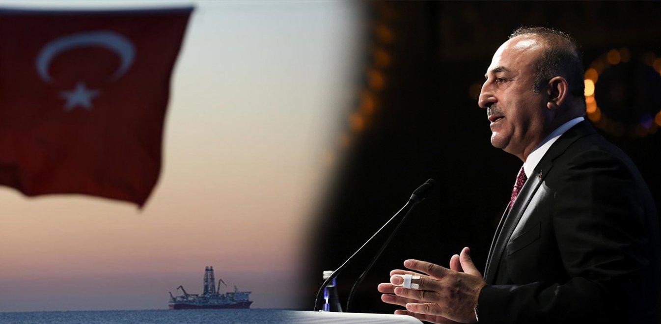 """Τσαβούσογλου: """"Εμείς καθορίζουμε τη ρότα στην Ανατολική Μεσόγειο"""""""