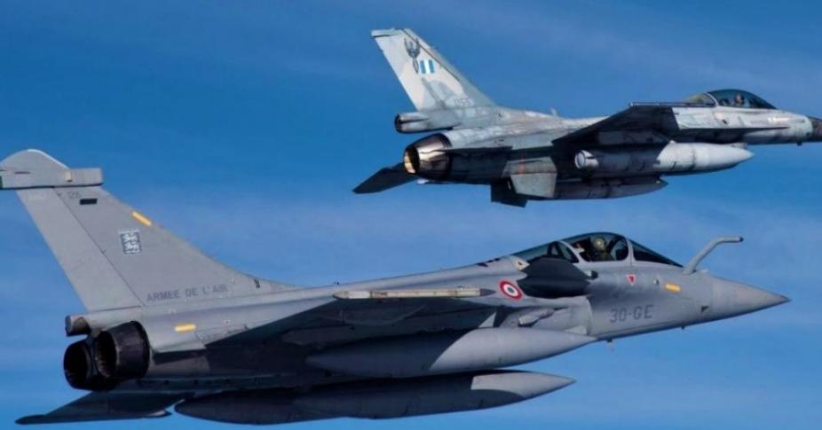 Γαλλικές αεροπορικές δυνάμεις καταφτάνουν στην Ελλάδα – Τουρκικά μαχητικά έχουν μετασταθμεύσει στις δυτικές βάσεις