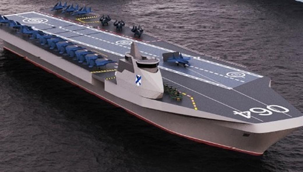 Αυτό θα είναι το νέο αεροπλανοφόρο του ρωσικού Ναυτικού;