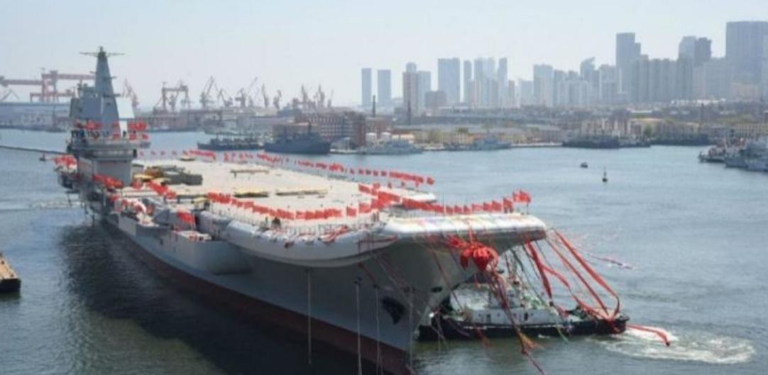 Κίνα: «Πρόσω ολοταχώς» για την κατασκευή του τρίτου αεροπλανοφόρου εντός του 2021