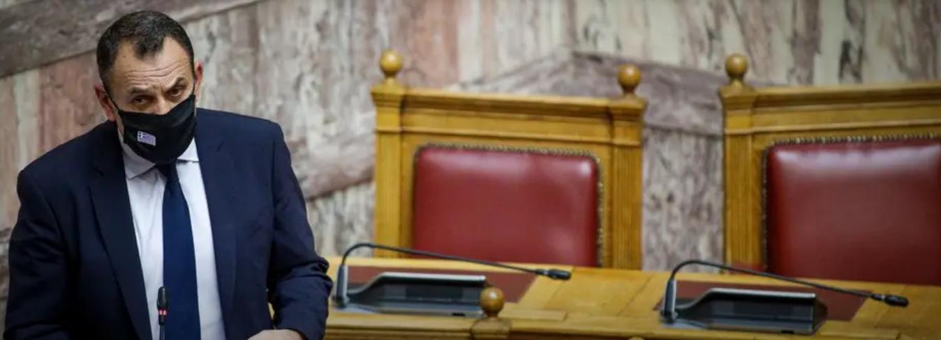 """""""Εθνικό Τυφέκιο"""" Από το 2022 λέει ο ΥΕΘΑ Νίκος Παναγιωτόπουλος"""