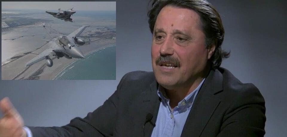 """Σάββας Καλεντερίδης """"Με τα γαλλικά Rafale είναι σαν να αποκτά αεροπορία και η Κύπρος"""""""