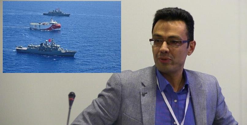 """Σωτήρης Σέρμπος """"Οι βλέψεις της Τουρκίας στην Αν. Μεσόγειο συνδέονται με την προβολή της ισχύος της"""""""