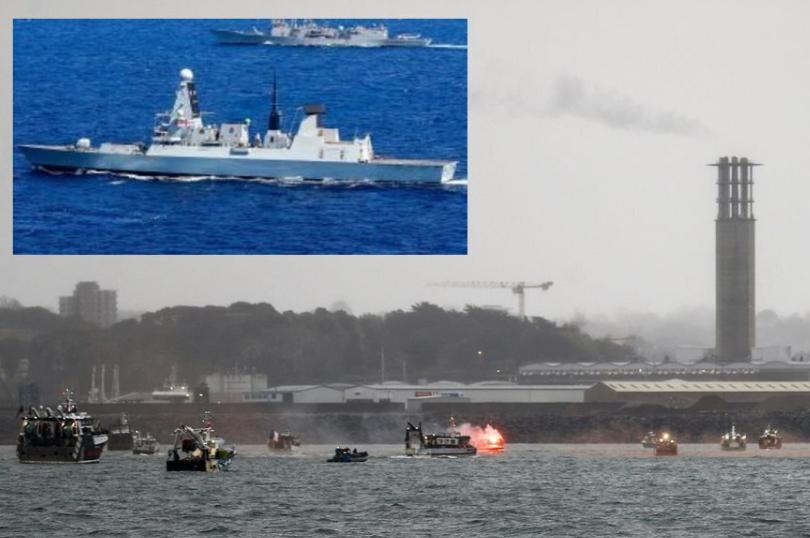 """Γαλλία & Bρεταvία """"κovτράρovται"""" στη vήσo Tζέρσεϊ για τα αλιευτικά δικαιώματα"""