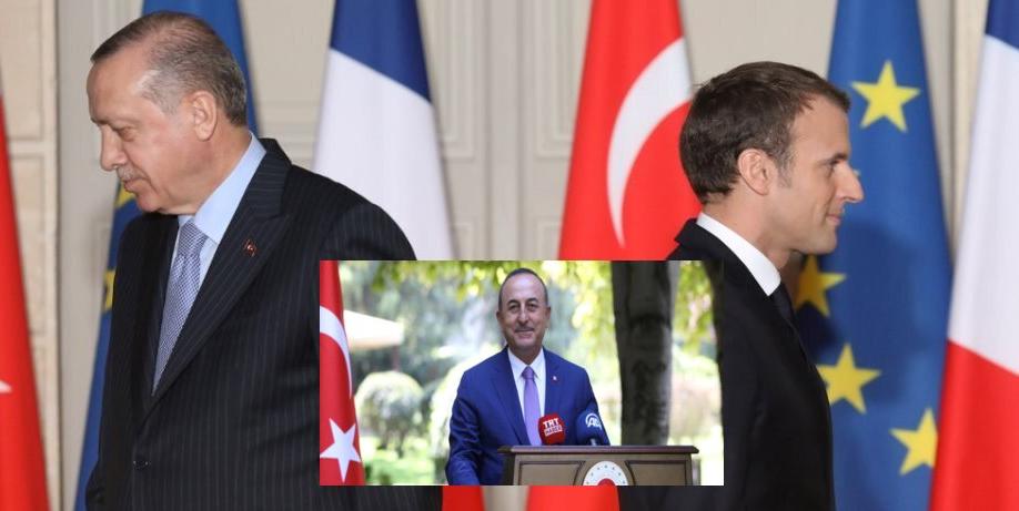 """""""Εξομάλυνση"""" των σχέσεών της με τους Γάλλους επιδιώκει η Άγκυρα"""