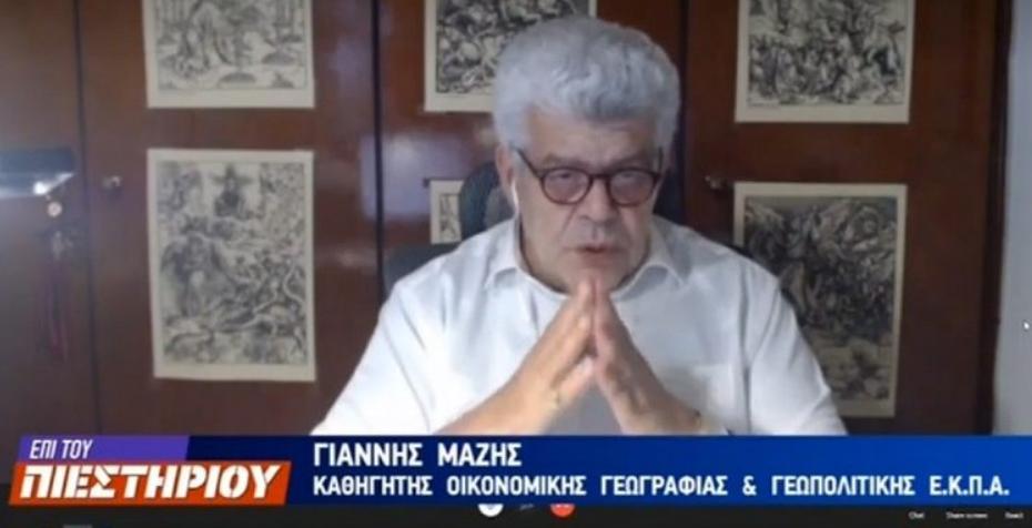 Καθηγητής Ιωάννης Μάζης – Πως σχολιάζει την συνάντηση Μητσοτάκη – Ερντογάν; (VIDEO)