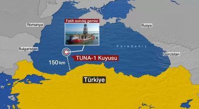 Πανηγυρίζουν οι Τούρκοι – Άλλα 135 δισ. m³ φυσικού αερίου στη Μαύρη Θάλασσα, λέει πως βρήκε ο Ερντογάν