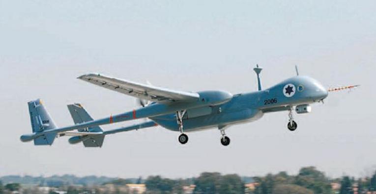"""Τα Ισραηλινά UAV """"Heron"""" αρχίζουν τις Επιχειρήσεις στα Ελληνικά Σύνορα"""